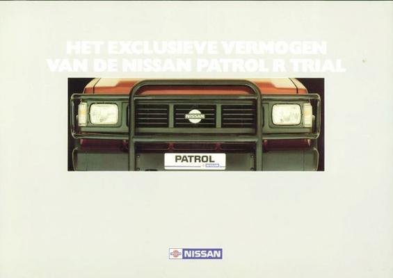 Nissan Patrol R Trial