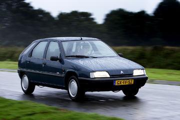 Klokje rond Citroën ZX