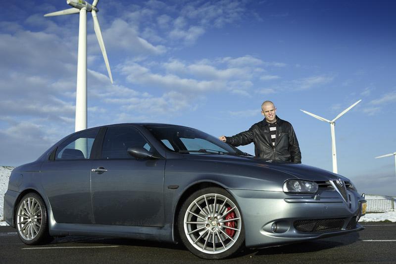 Blits bezit: Alfa Romeo 156 GTA
