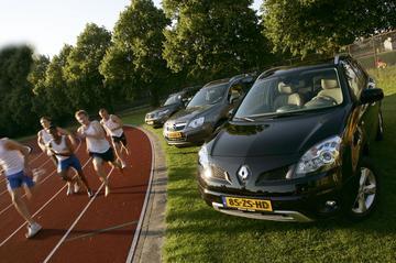 Renault Koleos 2.0 dCi 4x4/Hyundai Santa Fe 2.2 CDRi 4x4/Opel Antara 2.0 CDTI 4x