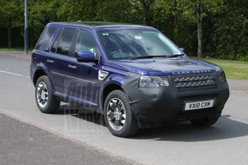 Bijpuntsessie Land Rover Freelander