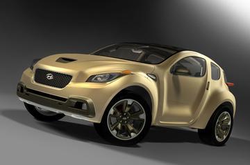 Hyudai Hellion: concept car met ribben