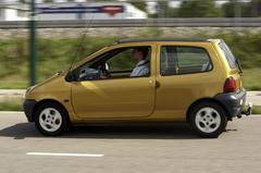Klokje rond Renault Twingo