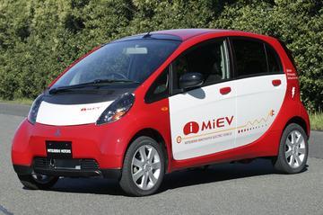 Nieuwe elektromobiel van Mitsubishi