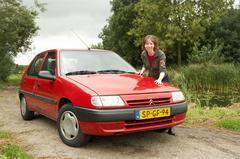 Klokje rond Citroën Saxo 1.5 D SX