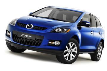 Mazda CX-7 komt in maart