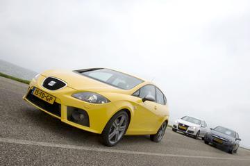 Seat Leon 2.0 TFSI FR/ Opel Astra 2.0 T 200 pk Cosmo/ Volkswagen Golf 2.0 16V FS