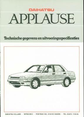Daihatsu Applause I,li,li-automaat,xi,zi,