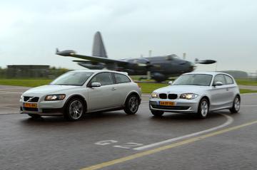 BMW 118d/Volvo C30 D5