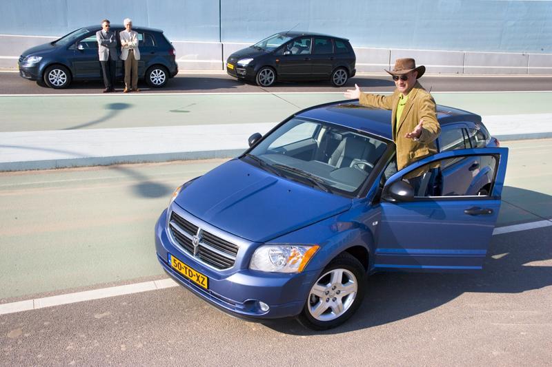 Dodge Caliber CRD SXT – Ford Focus C-Max 2.0 TDCi – Volkswagen Golf Plus 2.0 TDI
