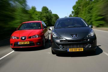 Peugeot 207 RC/Seat Ibiza 1.8 20VT Cupra