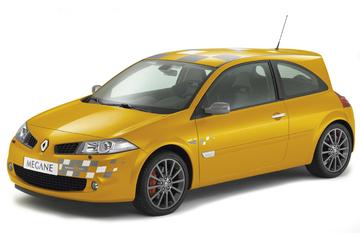 Renault Mégane RS knipoogt naar F1