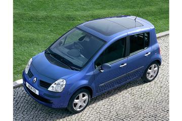 Wijzigingen aan Renault Modus