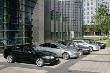 Renault Laguna/Volkswagen Passat/Ford Mondeo/Toyota Avensis/Peugeot 407