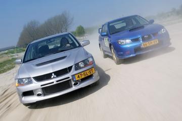Subaru Impreza WRX STi / Mitsubishi Lancer EVO IX