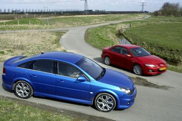 Mazda 6 2.3 DISI Turbo MPS / Opel Vectra GTS OPC
