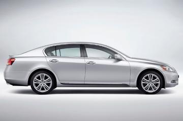 Eerste hybride luxe sedan: Lexus GS 450h