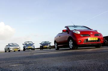 Nissan Micra C+C 1.4 Tekna Clima Style - Opel Tigra TwinTop 1.4 - Peugeot 206 CC
