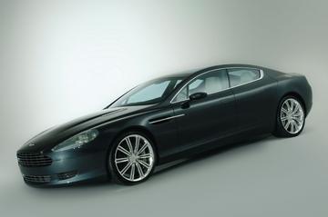 Vierdeurs Aston Martin!