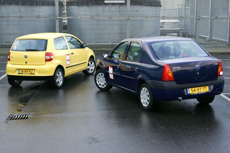 Dacia Logan 1.4 Ambiance -Volkswagen Fox 1.4