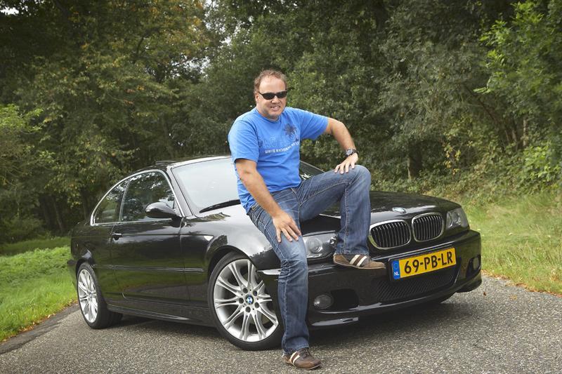 Klokje rond BMW 330Cd