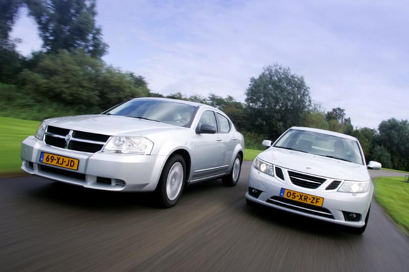 Dodge Avenger-Saab 9-3 Sport Sedan