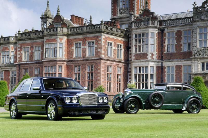 Bentley Arnage Blue Train herdenkt auto-trein race