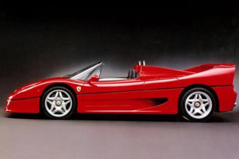 klassieker ferrari f50 1995 1997 specificaties. Black Bedroom Furniture Sets. Home Design Ideas