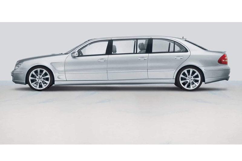 Verlengde Mercedes E-klasse van Lorinser
