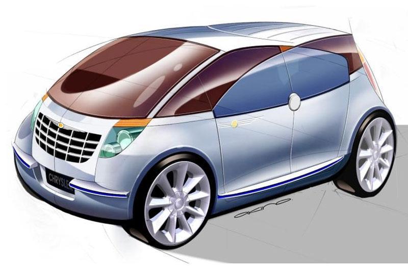 Gezellige concept van Chrysler