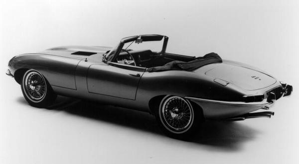 Jaguar E-type 3.8 New York presentatie