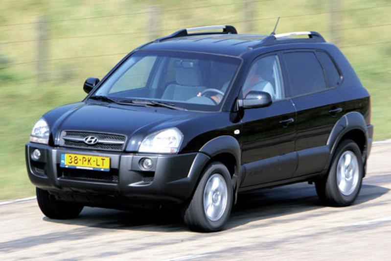 Hyundai Tucson 2.0i CVVT DynamicVersion (2004)