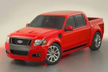 Ford Sport Trac Adrenalin: snelle truck