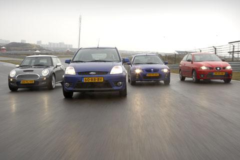 Ford Fiesta ST – MG ZR 160 – Mini Cooper S – Seat Ibiza Cupra 1.8 20VT