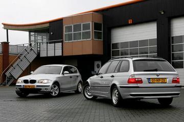BMW 116i – BMW 318i Touring Executive 2001