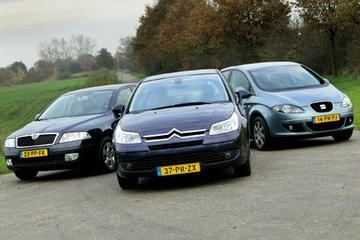 Citroën C4 Berline 1.6 HDi 110 Ligne Ambiance – Seat Toledo 1.9 TDi Stylance – S