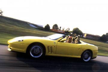 Opvolger voor Ferrari 550 Barchetta