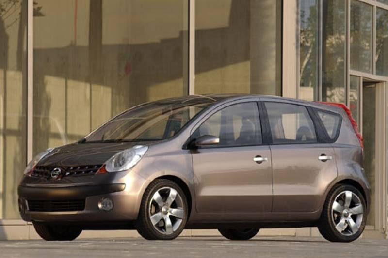 Nissan Tone: mpv op Micra-basis