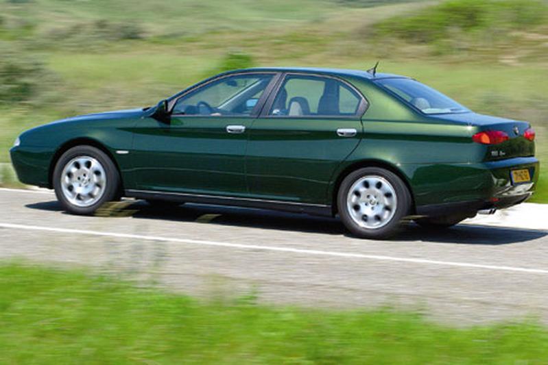 Alfa Romeo 166 3.0 V6 24V Progression (2003)