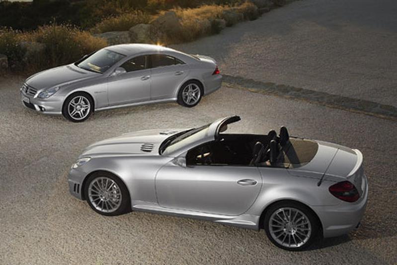 Mercedes-Benz SLK 55 AMG/CLS 55 AMG