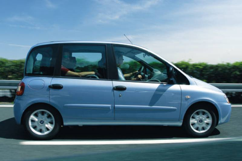 Gereden fiat multipla 2004 autonieuws for Interieur fiat multipla