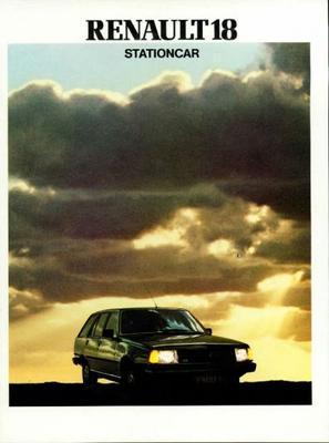 Renault 18 Stationcargtl,gtd,aut,tl,td,