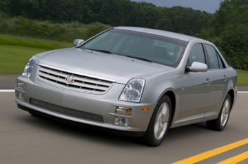 Gereden: Cadillac STS