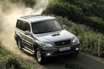 Opfrisser voor Hyundai Terracan