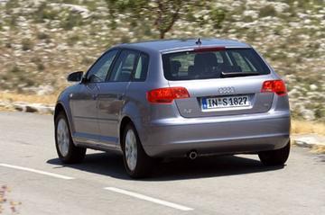 Audi A3 Sportback 2,0T FSI DSG