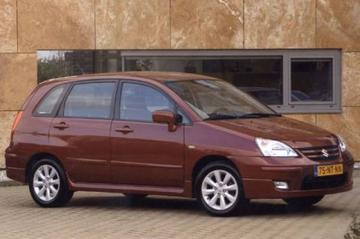 Gereden: Suzuki Liana 2004