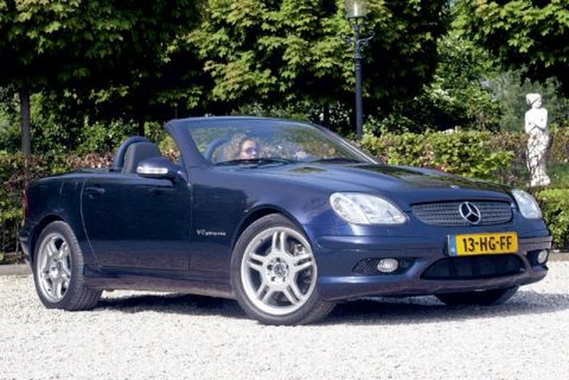 Mercedes-Benz SLK 32 AMG (2003)