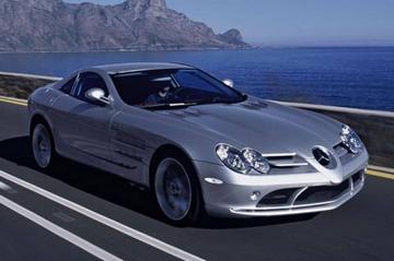 Mercedes SLR wordt een hit