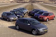 Opel Astra 1.6 Cosmo – Daewoo Lacetti 1.6 – Ford Focus 1.6 16V – Honda Civic 1.6 – Mazda3 1.6 – Peugeot 307 1.6 16V – Renault Mégane 1.6 16V – Seat Leon 1.6 16V - Toyota Corolla 1.6 - VW Golf 1.6 FSI