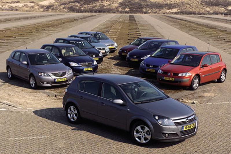 Opel Astra 1.6 Cosmo – Daewoo Lacetti 1.6 – Ford Focus 1.6 16V – Honda Civic 1.6
